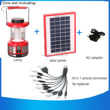3w Led Light Source and Rechargeable Battery Power Source portable rechargeable Solar Emergency Camping Lantern