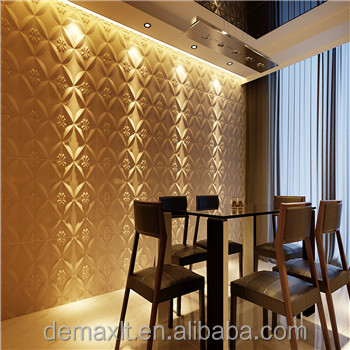 DBDMC Ceiling Tiles Type and Artistic Ceilings Feature leather wall panel