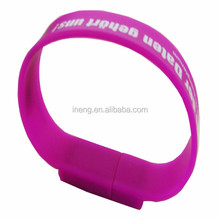 Promotional gift wristband usb flash drives bulk cheap