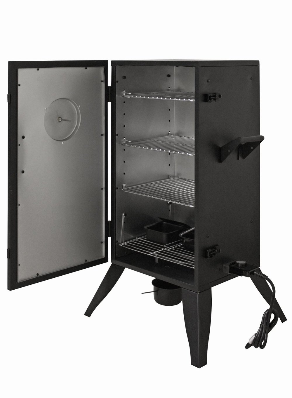 30 Quot Double Layers Electric Vertical Box Smoker Grills Fish
