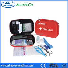 New OP OEM manufacture CE ISO FDA approved promotional hot selling emergency cute sports mini travel first aid kit