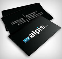 plastic business cards online