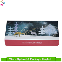 Custom Handmade Printed Decoration Gift Box High Quality Christmas Candy Box
