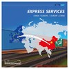 Quick Service Professional Rail Transport Shipping