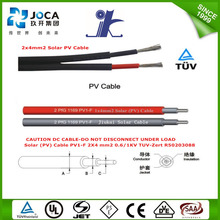 Y Branch Mc4 Solar Panel Connector Cable Hardness