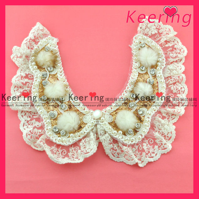 sequin collar pattern neck design of blouse rhnesone collarWNL-1186