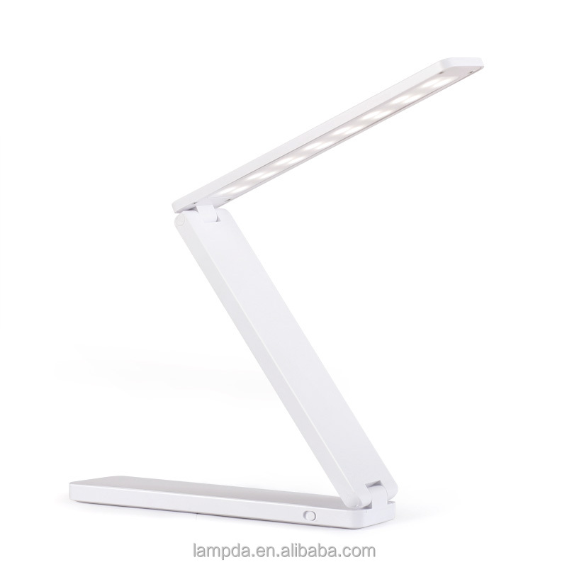 2016 cordless energy saving characteristic new design foldable table lamp with USB