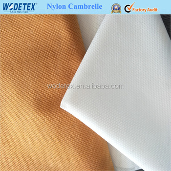 Nylon Cambrelle In 100% Nylon Fabric