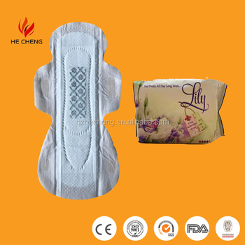2017 Hotsale Brand Name Anion Sanitary Napkin with Negative Ion Philippines Manufacturer from Fujian