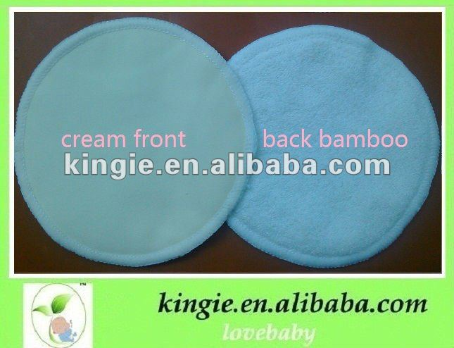 soft bamboo nursing pad, breast pad for lady