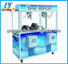 Crazy and stimulate toy story Crane machine for two players
