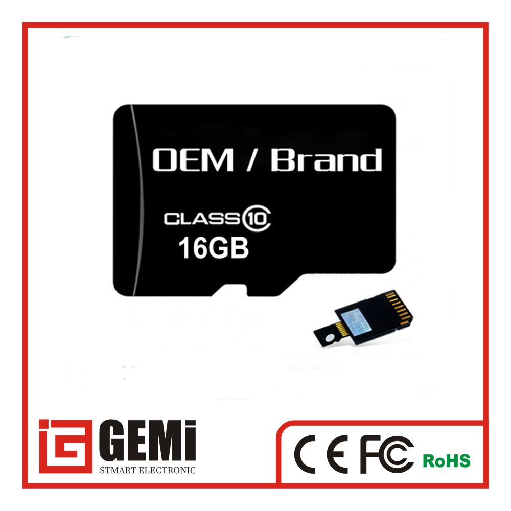 2016 Factory Low Prices Taiwan memory sd card 2GB 4GB 8GB 16GB 32GB 64GB 128GB class 10 With adapter