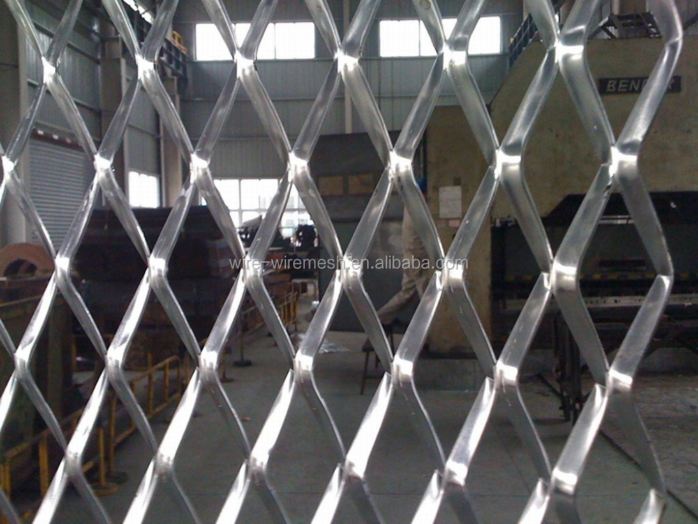 high quality anping expanded metal mesh/ diamond mesh/ iron plate net