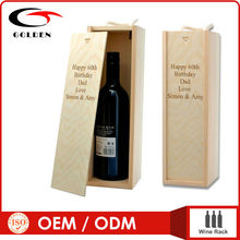wooden wine bottle boxes , box for wine , wine shipping boxes