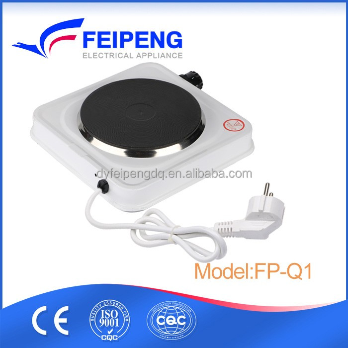 Electric solid hot plate 1000w/mini electric stove with CE for cooking or gift