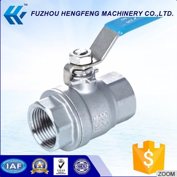Lowest price 1/2 inch stainless steel ball valve