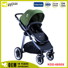 Has the rain cover and shade the baby carriage folding portable baby cart cart
