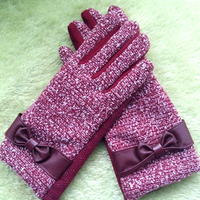 Warm Gloves Winter Warm Female Touchscreen