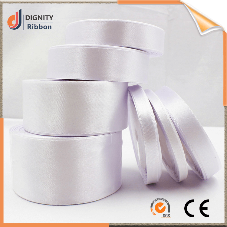 wholesale Factory supply high quality 100% polyester satin ribbon