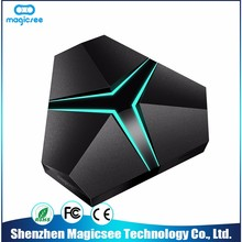 2017 New Arrival Superior Service 1tb hdd media player mic input m6 android tv box
