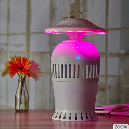 Custom home appliance portable colorful table lamp & electric mosquito trapping mosquito killer
