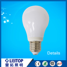 glass body 360 lighting e27 led bulb