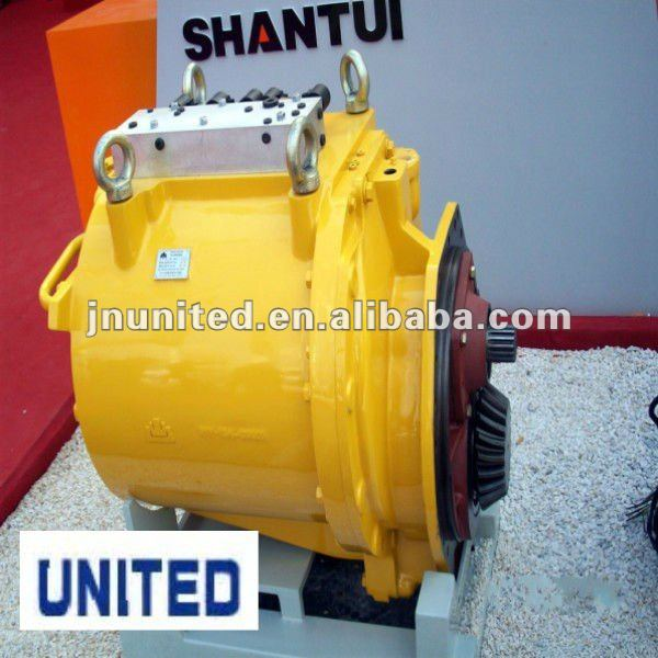 SHANTUI SD23 torqueflow transmission assy 154-15-41002. SHANTUI bulldozer undercarriage parts