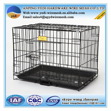 outdoor Folding Dog cages/galvanized steel dog kennel