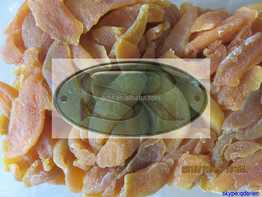 natural dried peach slice(with sugar in syrup)