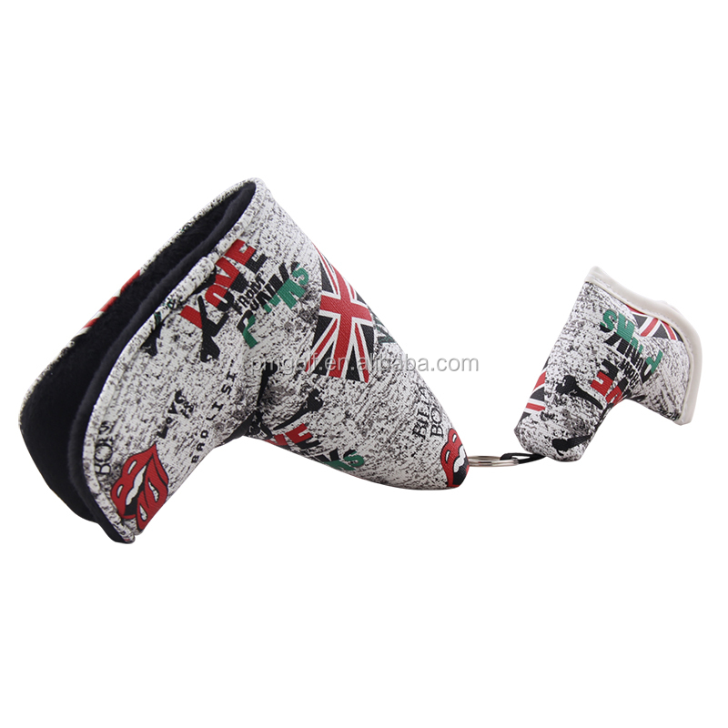 OEM & ODM PU Leather Golf Putter Cover for Scotty Cameron Taylormade Odysse Blade Covers