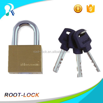 Factory Direct Sale brass pad lock with high quality