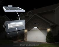 7W Dimmable Motion Sensor Solar Garage Lights Whole Night Lighting