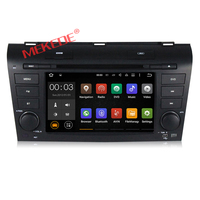 7 inch screen android 7.1 quad core car audio player special for OLD MAZDA 3 2004-2009 with steering control