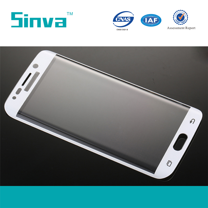 Manufacturer! 3D Curved Full Covered Tempered Glass for S6 edge plus In Stock