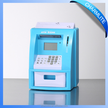 Digital money counting Jar Novelty Coin Bank For Kids/ATM Piggy Bank ATM coin Bank Toy For Children