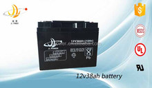 Best Quality 12v 38ah UPS Replace Battery Manufacturer in Guangzhou