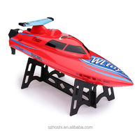 New Arrival Wltoys WL911 RC Boat 4CH 2.4G High Speed 24km/h Racing RC RTF Charging Boat Waterproof Remote Control Outdoor Toys