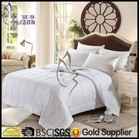 OEM Silk Duvet Cover/Cotton Fabric super soft quilt/ Silk Duvet