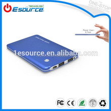 Ultra slim small size unique design 3500mah power bank for blackberry q10