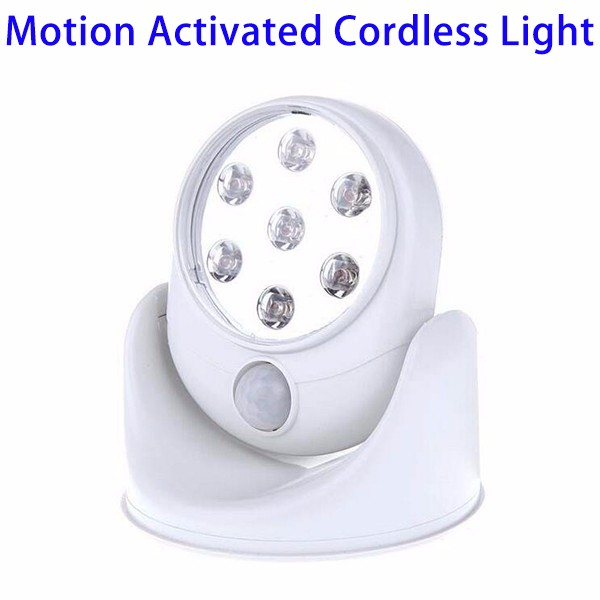 Trade Assurance Protection 360 Degree Motion Sensor Activated Cordless Light