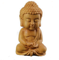 Factory Custom made best home decoration gift polyresin resin mini pocket buddha