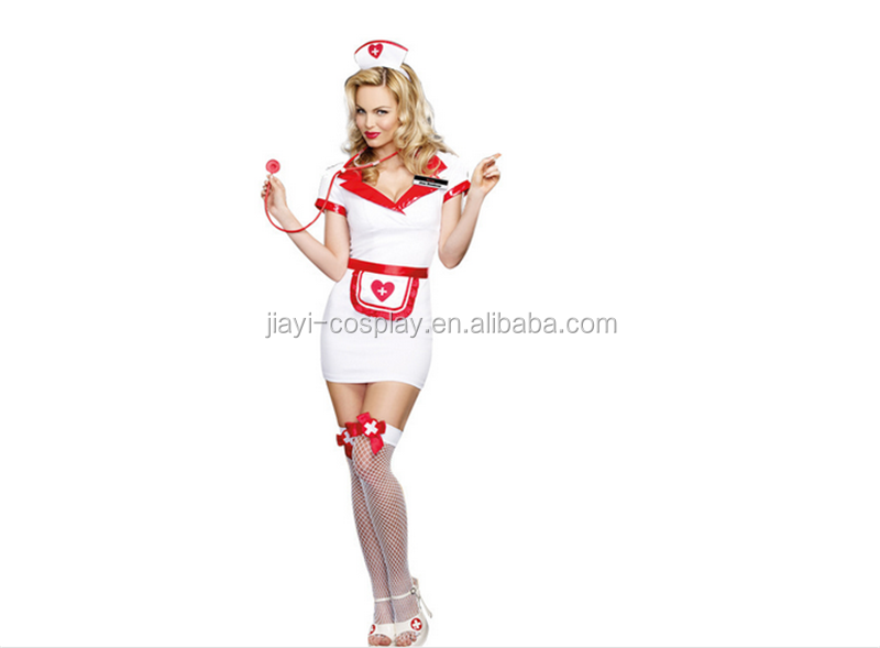 New Sexy Adult Women Nurse Fancy Dress Costume Cosplay Halloween Outfit Lingerie