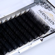 Competitive Price Own Brand Russian Volume 0.05,0.06,0.07 Lashes/ Private Label Eyelash Extensions Wholesale Silk Eye Lashes