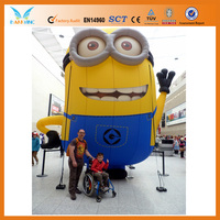 Funny inflatable minion wholesales for advertising