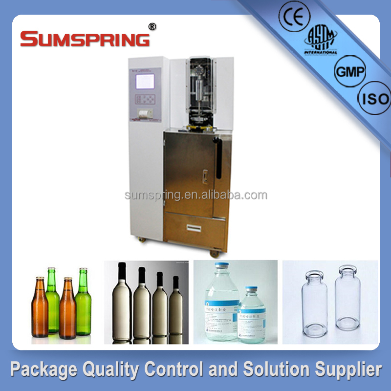 EN ISO 7458:2004 Antibiotic resistance bottle internal pressure resistance test machine