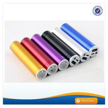 AWC193 Matel 18650 led torch portable multi-function usb charger 3000mah battery case for iphone 5