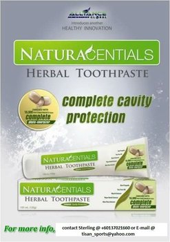 NATURACENTIALS (HERBAL TOOTHPASTE)