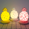 2018 Hot sale Amazon gifts silicone pineapple night light fruits lamp