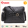 Portable mesh compartments sport laptop leather crossbody bag