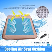 CAS2-12-2 12V Honey Comb Cooling Air Cushion Car Seat